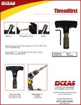 Threadfirst Tool Bar Burr Remover