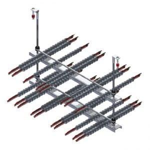 CEAS Stiffy Fig 130 2-Tier Crossbar Trapeze